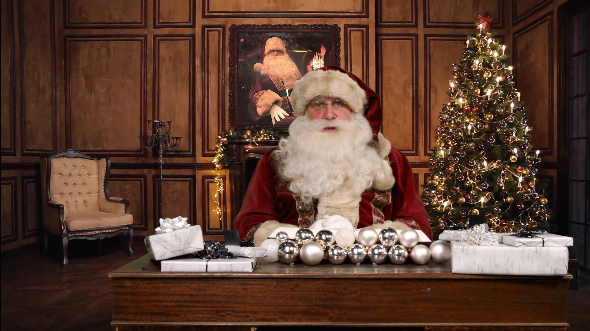 Santa Visits Ironworks Studios